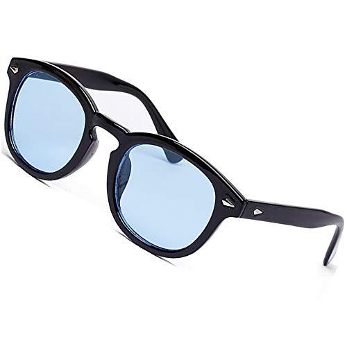SHEEN KELLY Vintage Runde Sonnenbrille Frau Eyewear Männer Sonnenbrille Rosa Blau
