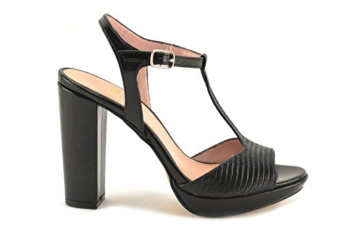 CONBUENPIE  5626,  Damen Schuhe Schwarz