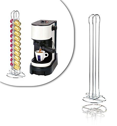 726105 Stand per capsule caffè portacapsule in metallo 20 posti design moderno. MWS
