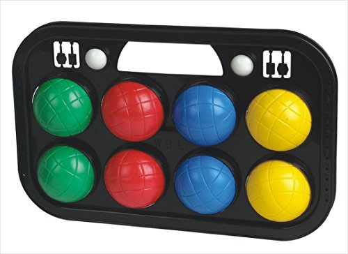 Glow2B Germany 1000322 - Boccia, Boule Spiele, 8-er Set, 70 mm