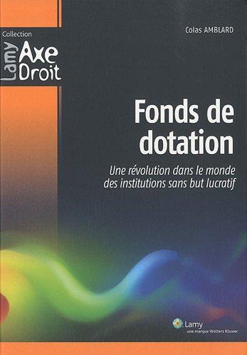 Fonds de dotation : Une révolution dans le monde des institutions sans but lucratif