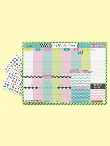 desktop-planner-pad-pens-pencils-student-planner
