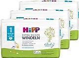 Hipp Babysanft Windeln Newborn Carry Größe 1, 3x24 Stk.(72 Stück)