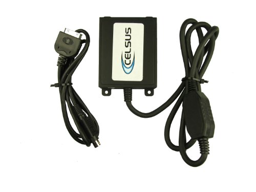 Celsus IPV3010 Adapterkabel iPod 3G auf Honda Civic 2006-2009 mit Navigationsgerät oder Hersteller CD (Ipod Nano Control)