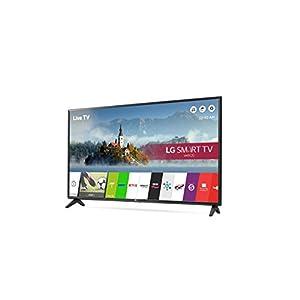 LG 49LJ594V 49 inch Smart LED TV (2017 Model), (Certified Refurbished)