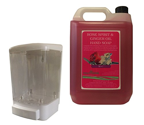 5-litres-of-rose-ginger-professional-liquid-hand-soap-5l-wall-mounted-soap-dispenser