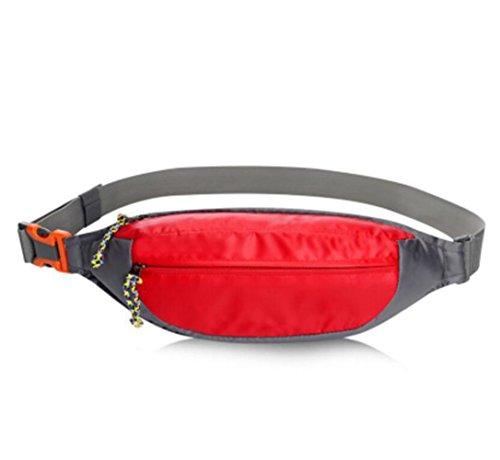 OOFWY Taille Tasche Pack Wasserresistent Fanny Pack Reise Bum Bag Running Gürtel für Reisen Radfahren Wandern Camping E