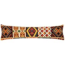 Vervaco Draught Excluder Geometric Cross Stitch Kit, Multi-Colour