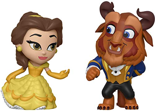 Funko - 36419 - Romance Series: Disney Princess - Beauty and The Beast - 2 x Mini Vinyl Figuren, 6cm -