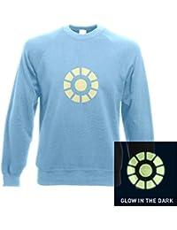 Im Dunkeln leuchtendes Reaktor T-Shirt Kinder T-Shirt