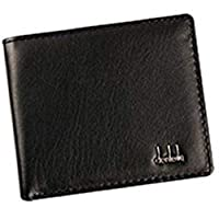 Abenily Small and Practical Life Items Fashion Men Leather Short Style Business Wallet Card Holder Purse (Brown)