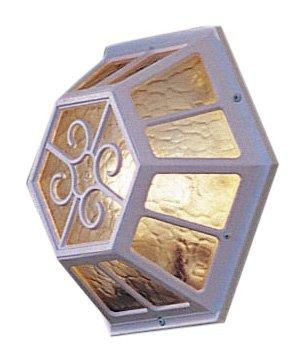 konstsmide-544-250-sirius-wall-light-matt-white-amber