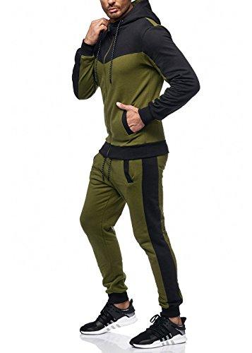 John Kayna -  Tuta da ginnastica  - Uomo Verde