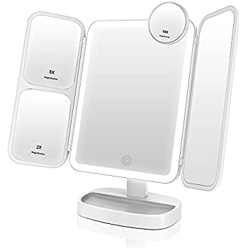 Easehold Shaving Mirror Vanity Makeup Mirror With 38 Led