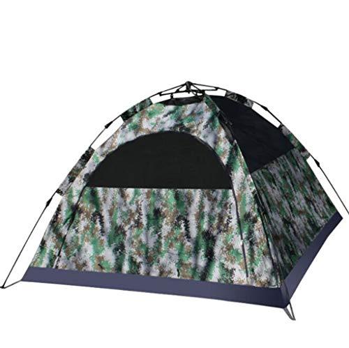 Digital Camouflage Zelt Zu Erhöhen Tarnzelt 3-4 Personen Outdoor Doppel 420D Dickes Tuch Zelt