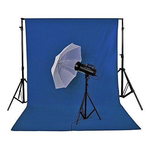 Neewer® 3 x 3.6M/10 x 12ft Foto Studio 100% reine Musselin Faltbare Hintergrund-Hintergrund für Fotografie, Video und Fernsehen (nur Hintergrund) - BLAU