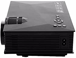 Play PlayProjector-PP004 LED Projector with Built-in WiFi and 1920x1080p Projection 2000 Lumens(Black)
