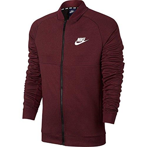 Preisvergleich Produktbild Nike Track Top – Sportswear Advance 15 granat/schwarz/weiß Größe: L (Large)