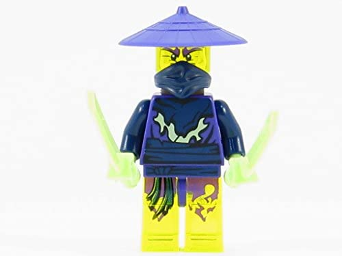 LEGO® Ninjago: Cowler Ghost Ninja Warrior Minifigurine     Swords and Spear | à Prix Réduits  9986c8
