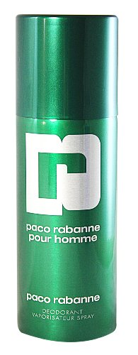 Paco Rabanne Pour Homme / men, Deodorant Spray 150 ml, 1er Pack (1 x 150 ml)