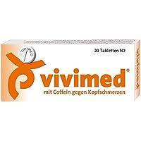 VIVIMED mit Coffein gegen Kopfschmerzen Tabletten 20 St Tabletten preisvergleich bei billige-tabletten.eu