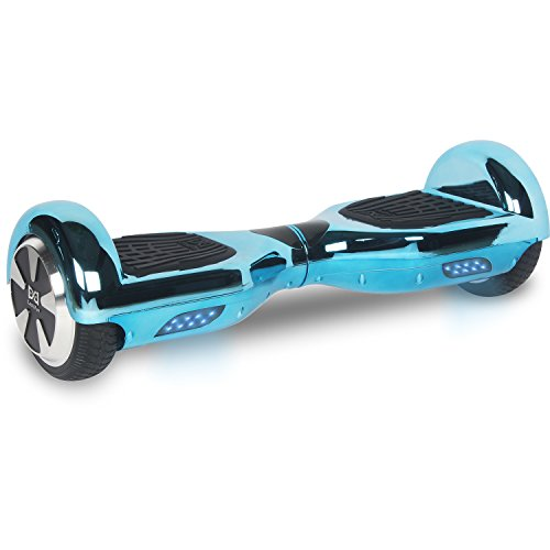 "Cool&Fun Hoverboard Patinete Eléctrico Scooter talla 6.5"" de Shop Gyrogeek (Azul)"