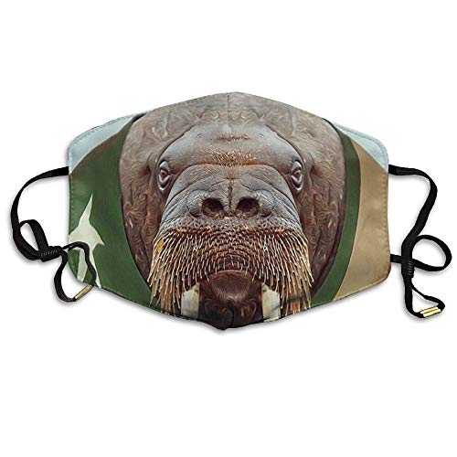 Masken Beach is My Happy Place Anti Dust Face Mouth Cover Mask Respirator - Dustproof Anti-Bacterial Washable - Reusable Masks Respirator Comfy - Protective Breath Healthy Safety Warm Windproof Mask