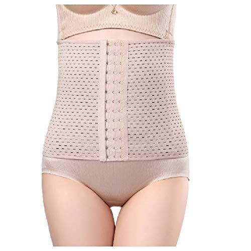 AGAING Damen Taillengürtel mit Sanduhr-Former, Taillengürtel Gr. 95, braun -