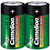 Baby-Batterie CAMELION Super Heavy Duty, 1,5 V, Typ C/R14, 2er Pack