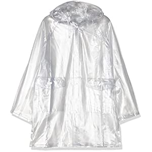 HKM–Giacca impermeabile Uomo, Uomo, Regenjacke, transparent, trasparente, L