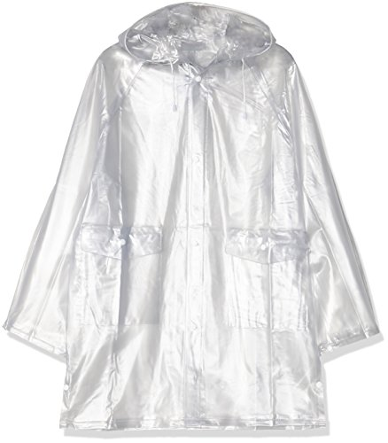 HKM Regenjacke, transparent, L