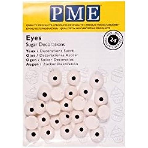Ojos de caramelo PME