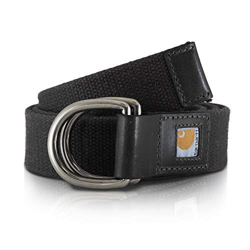 Carhartt Damen Gürtel Womens Webbing Belt Black-M - L Womens Webbing Belt