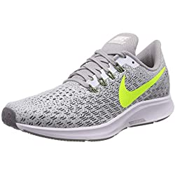 Nike Air Zoom Pegasus 35, Zapatillas de Running Unisex Adulto, Blanco, 43 EU