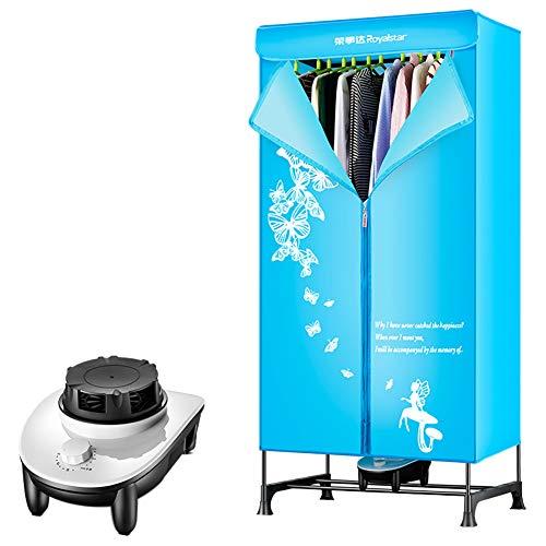 asciugatrice Portatile 2 Strati Lavanderia elettrica stendino 40 lb capacità Risparmio energetico (anione) 1.5 M ad Alta efficienza modalità di Controllo Meccanico con cronometraggio Automatico