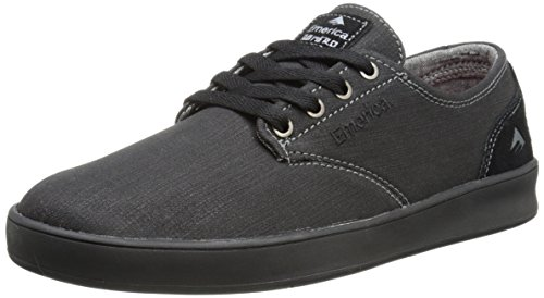 Emerica The Romero Laced Skate Shoes black / black / gum / noir Taille black black gum