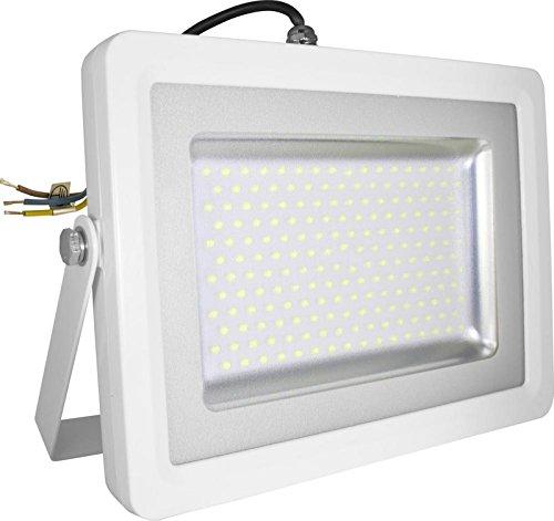 V-TAC 5686 LED 100 Watt SMD Fluter Scheinwerfer Strahler - Licht 4500 Kelvin tagweißes Licht - IP65 - 8000 lm - Ersetzt 500 Watt Halogen - Gehäuse Aluminiumdruckguss grau VT-48100 -