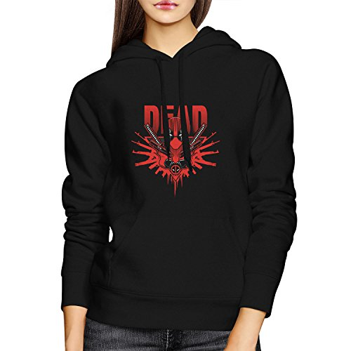 Planet Nerd - Dead Logo - Damen Kapuzenpullover, Größe S, (Kostüm Ironfist)