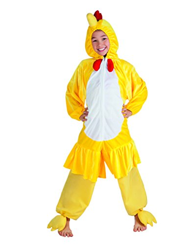 Boland 88202 Kinderkostüm Huhn aus Plüsch, 140
