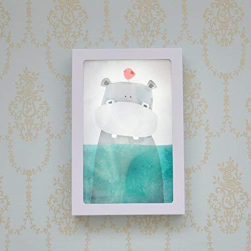 Nordic Crown (CWJ Dekoration Halterung Licht, Led Nordic Niedlichen Haustier Cartoon Kinderzimmer Dekoration Wandleuchte, Bär Pinguin Schlafzimmer, 20X30 Cm, B Crown Kreative Wandleuchte Loft Bar Beleuchtung Wasse)