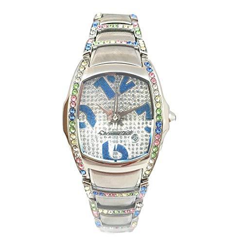 Chronotech orologio analogico al quarzo donna con cinturino in acciaio inox ct7896ss-72m