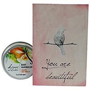 KIVVI Orange & Vanilla Body Marmalade Betörende Pflege für jeden Hauttyp Intensiviert die Sommerbräune - 15 ml