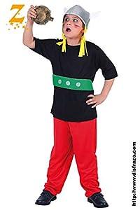 Fyasa 705970-t02Gallic Hero disfraz, tamaño mediano