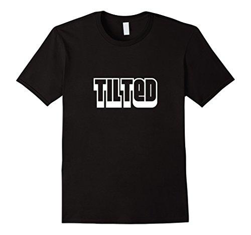 Tilted Shirt League T-Shirt for plebs who tilt in game tee Herren, Größe M Schwarz