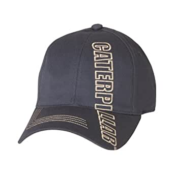 Caterpillar 1128027 Stretch Fit Cap / Baseball Caps / Headwear (One Size) (Navy)