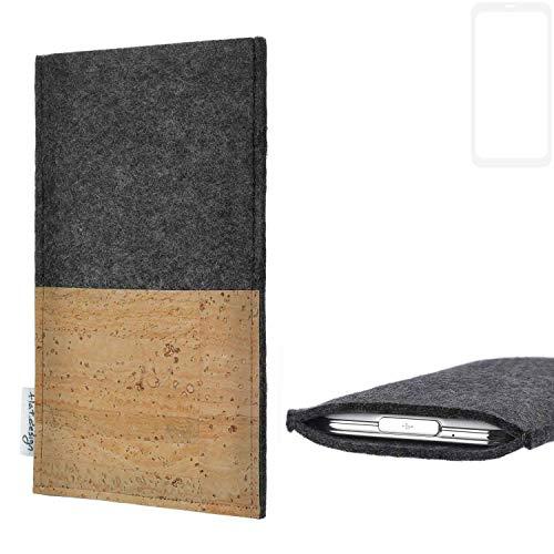 flat.design vegane Handy Hülle Evora für Xiaomi Blackshark Helo Kartenfach Kork Schutz Tasche handgemacht fair vegan