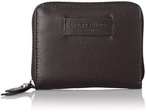 Liebeskind Berlin Damen Essential Conny Wallet Medium Geldbörse, Schwarz (Black), 3x11x13 cm