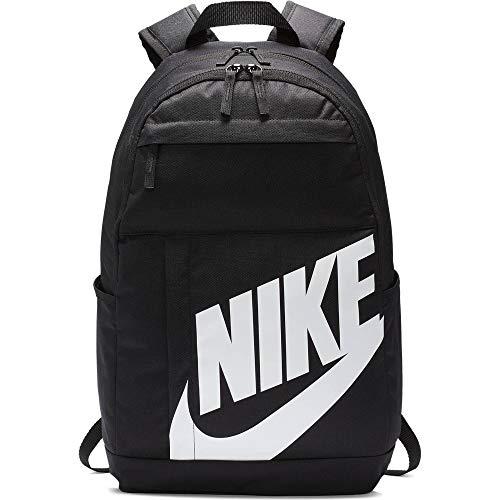 Nike NK ELMNTL BKPK - 2.0 Sports Backpack, Black/Black/(White), MISC
