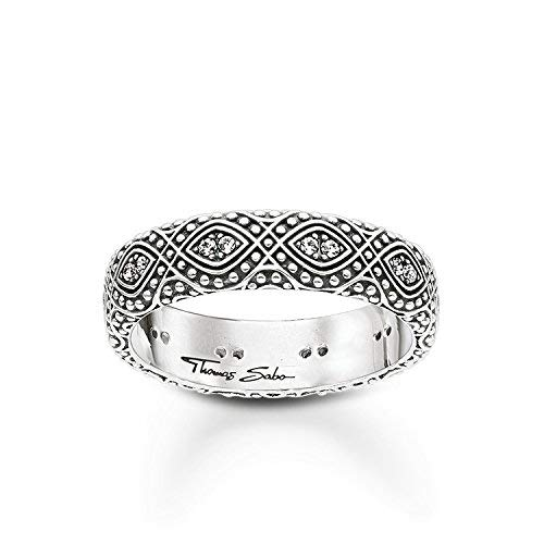 THOMAS SABO Damen-Ringe 925 Sterlingsilber mit \'- Ringgröße 50 TR2092-643-14-50