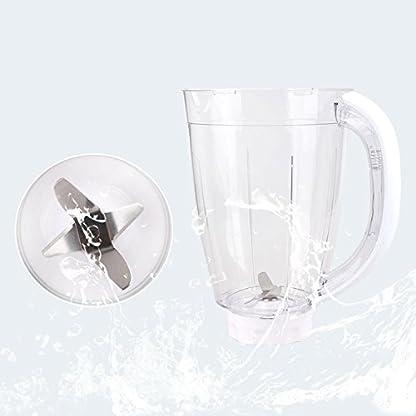 Aigostar-Spin-30HLV-Standmixer-Smoothie-Maker-Obst-Mixer-350W-15L-Geschwindigkeitswahlschalter-und-manueller-Modus-BPA-frei-Wei-EINWEGVERPACKUNG